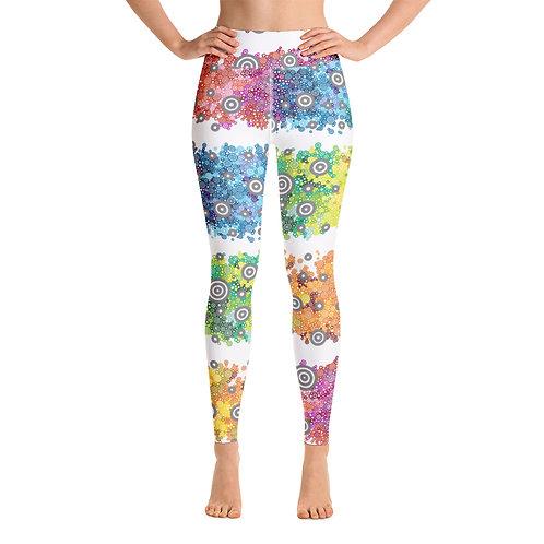 Women Yoga Light Spectrum Leggings
