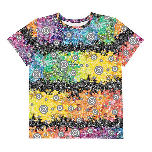 Youth All Over Light Spectrum with Dark Matter T-Shirt