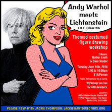 2016/06/14 - Andy Warhol Meets Lichtenstein