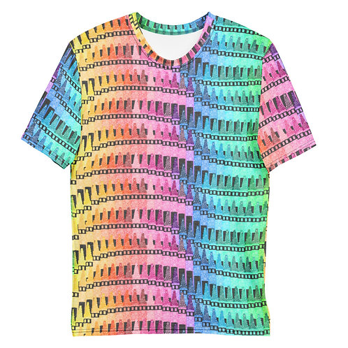 Men All Over Crayons T-Shirt