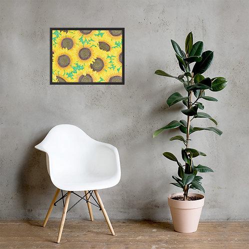Sunflowers Framed Poster