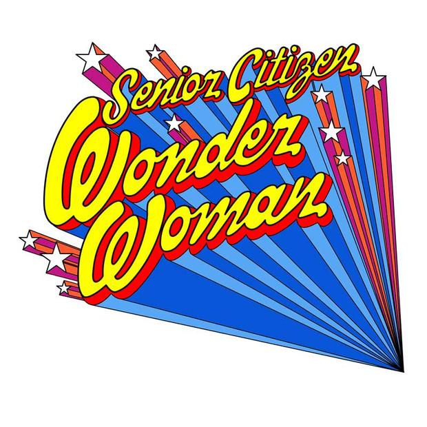 Title: Senior Citizen Wonder Woman