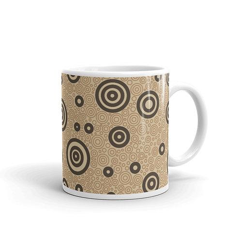 Cats And Dogs Circles Mug