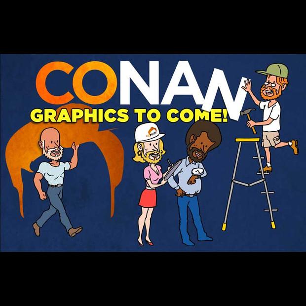 Conan Bumper Graphic