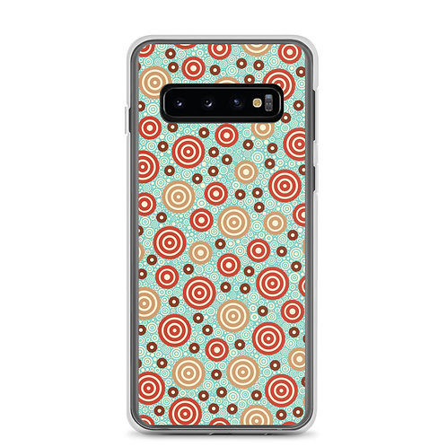 Aztec Warrior Samsung Phone Case Sky