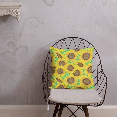 Sunflowers Pillow