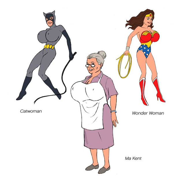 DC Comic Character Revised