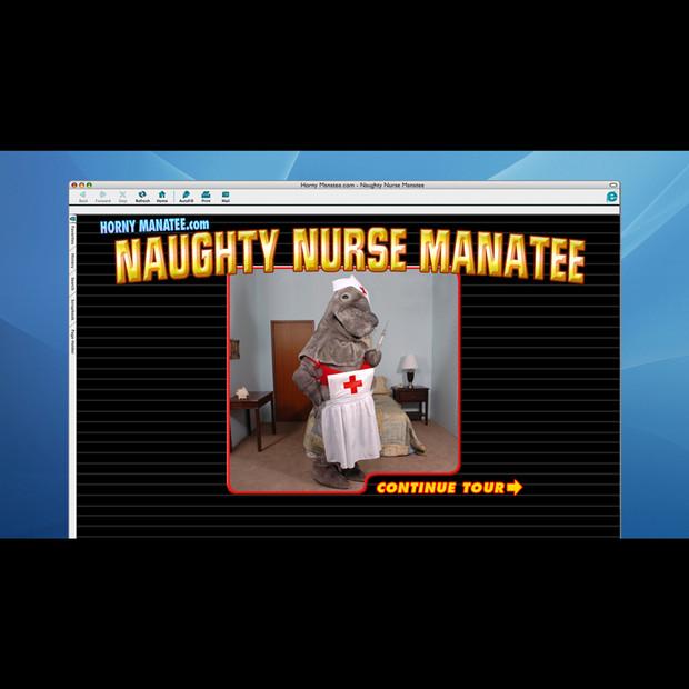 Horny Manatee Website: Naughty Nurse Manatee