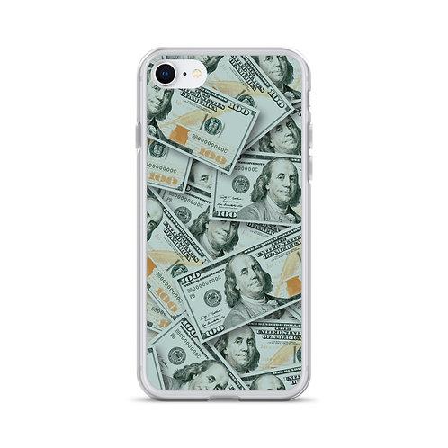 100 Dollar Bills iPhone Case