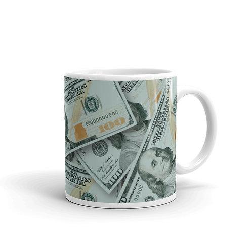 100 Dollar Bills Mug