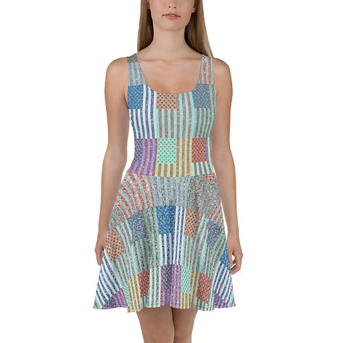 American Pop Skater Dress