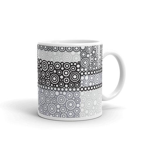 Crayons Mug Black And White
