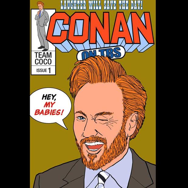 Conan Comic Book Cover