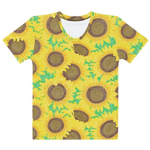 Women All Over Sunflowers T-Shirt