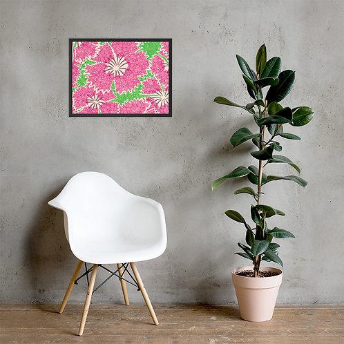 Dianthus Annuals Framed Poster