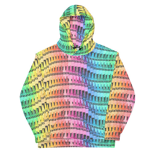 All Over Crayons Hoodie