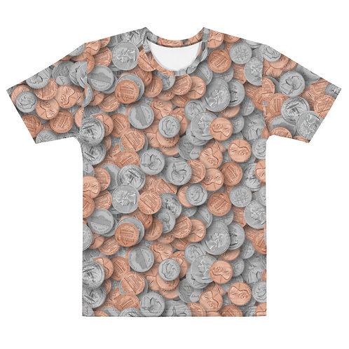 Men All Over Loose Change T-Shirt