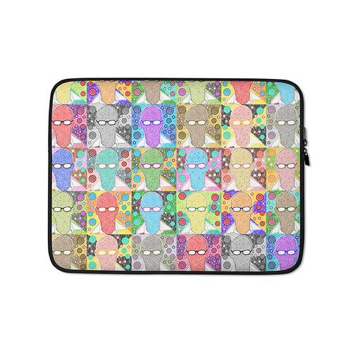 Comfortable And Furious Laptop Sleeve
