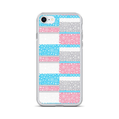 Unity iPhone Case Blue And Pink