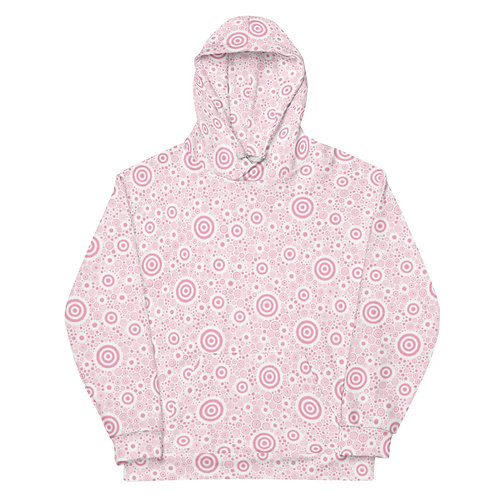All Over Think Pink Hoodie