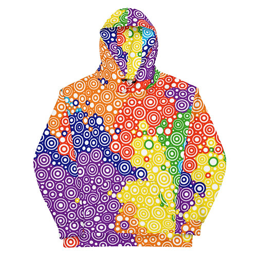 All Over Tie Dye Hoodie
