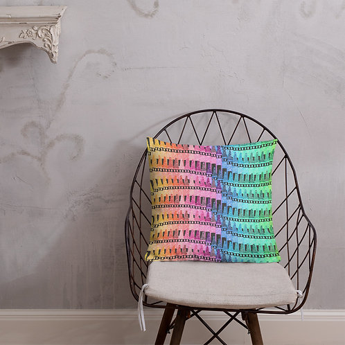 Crayons Premium Pillow