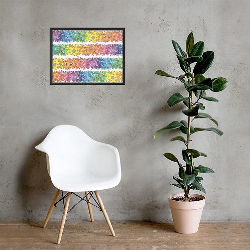 Light Spectrum Framed Poster