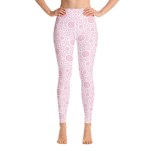 Women Yoga Think Pink Leggings