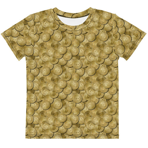 Kids Cryptocurrency Bitcoin T-Shirt