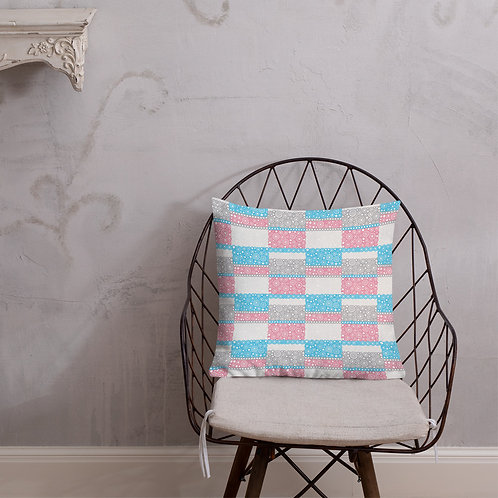 Unity Premium Pillow Blue And Pink