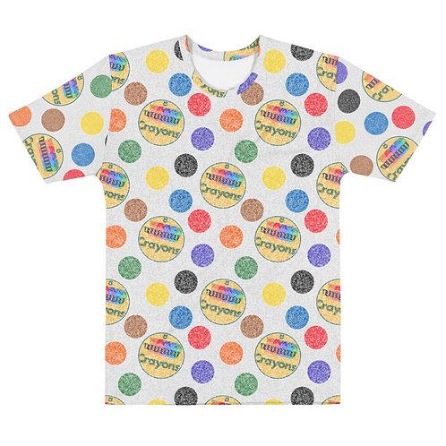 Men All Over Crayon Polka Dots T-Shirt