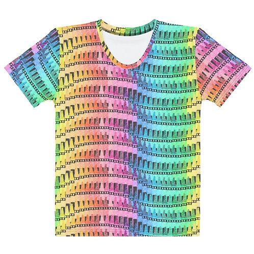 Women All Over Crayon T-Shirt