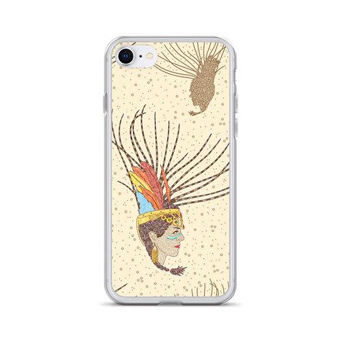 Aztec Warrior iPhone Case