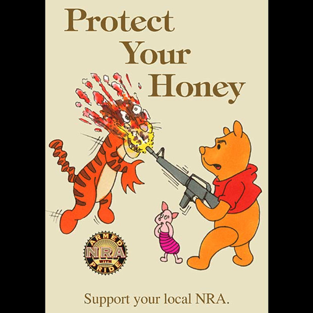 NRPoster: Protect Your Honey