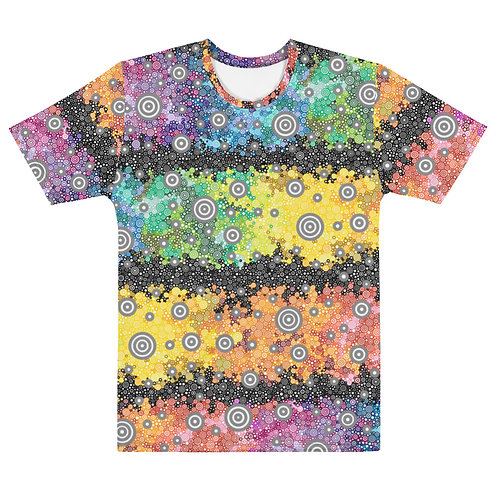Men All Over Light Spectrum with Dark Matter T-Shirt