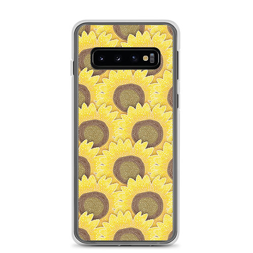 Rows Of Sunflowers Samsung Phone Case