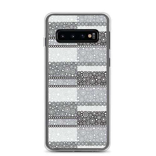 Unity Samsung Phone Case Black And White