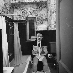 Hitler On The Toilet
