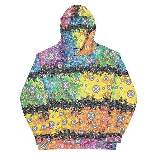 All Over Light Spectrum with Dark Matter Hoodie