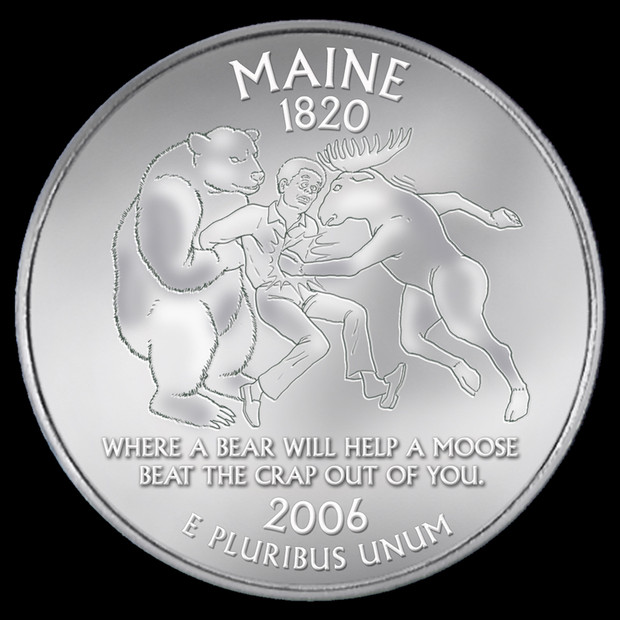Maine Quarters