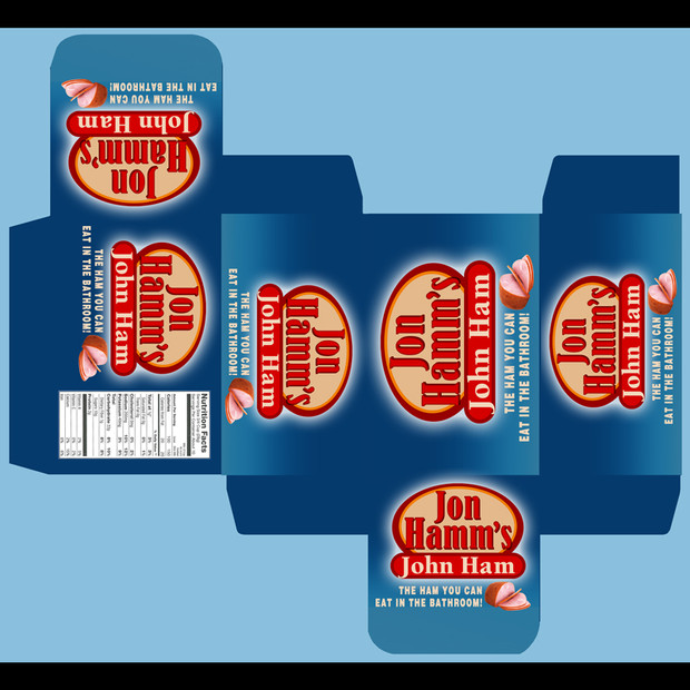 Package Design: Jon Hamm's Ham Box