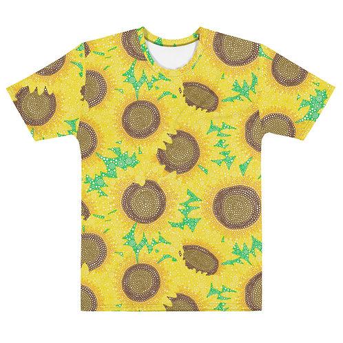 Men All Over Sunflowers T-Shirt