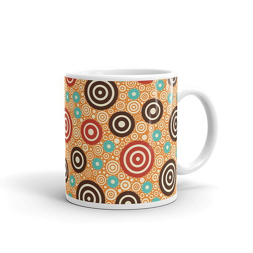 Aztec Warrior Mug Gold