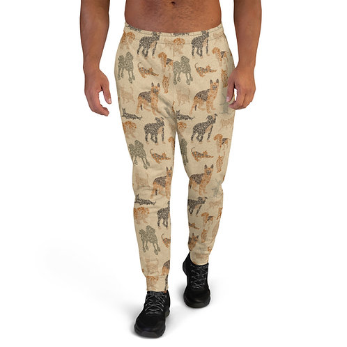 Men's Cats And Dogs Joggers