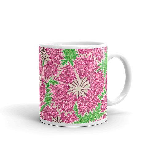 Dianthus Annuals Mug