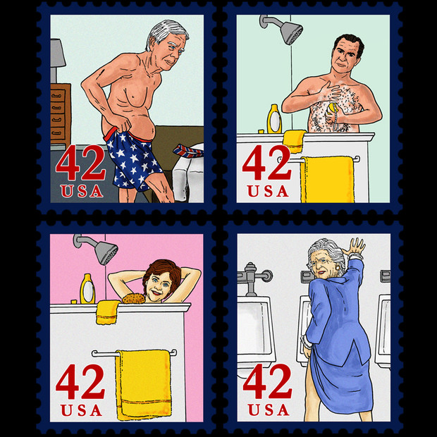 Presidential Families Stamps