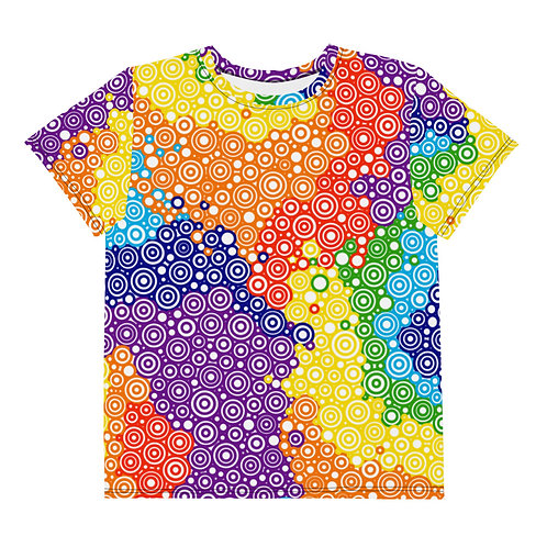 Youth All Over Tie Dye T-Shirt