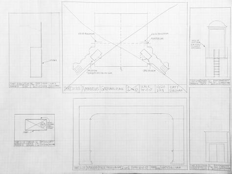 Draftings of Model Pieces