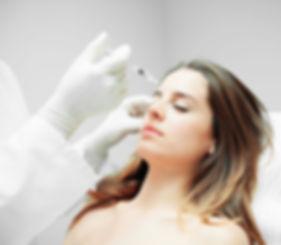 Woman Having Botox Injection