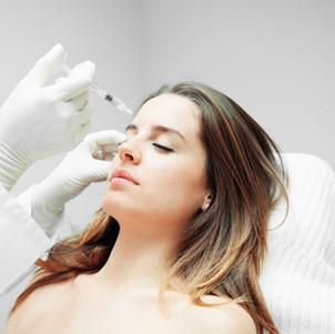 Odos paruošimas injekcijoms taikant limfodrenažą